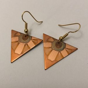 Jewelry - Hand Made Copper Earrings